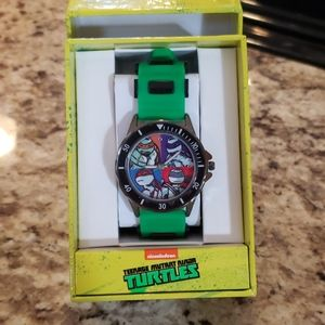 NIB Nickelodeon Ninja Turtles Watch